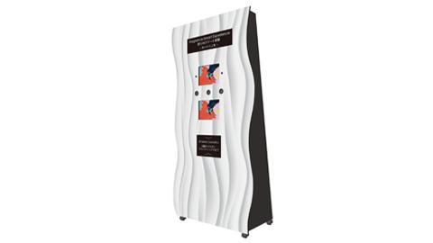 【デザインの裏側】香り噴射装置のディスプレイ什器制作について