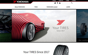 横浜ゴム株式会社様ー「YOKOHAMA TIRE Global Website」